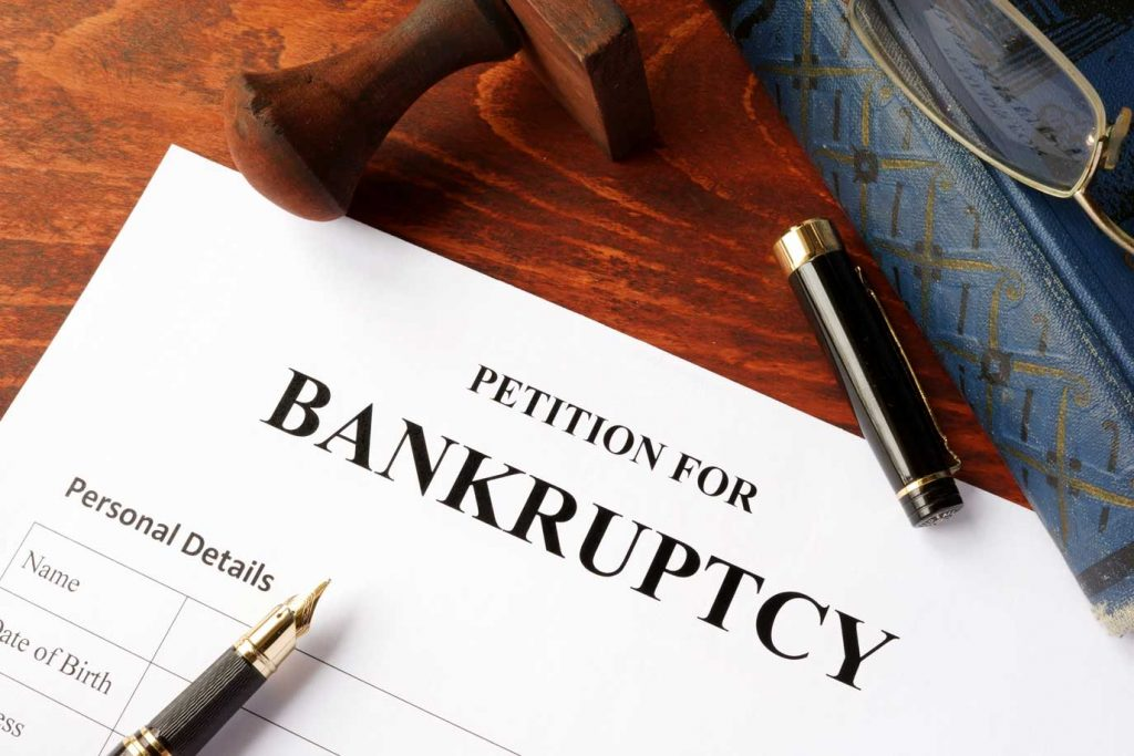 Petition For Bankrucptcy Paperwork